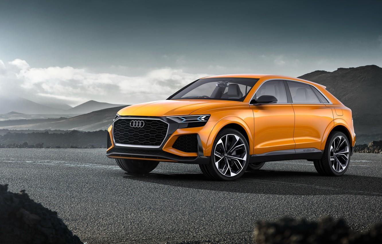 Фото обои Concept, Audi, ауди, концепт, кроссовер