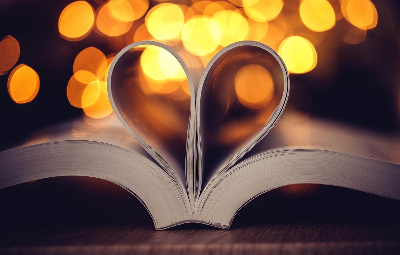 картинки с сердечками и книгой нарядность