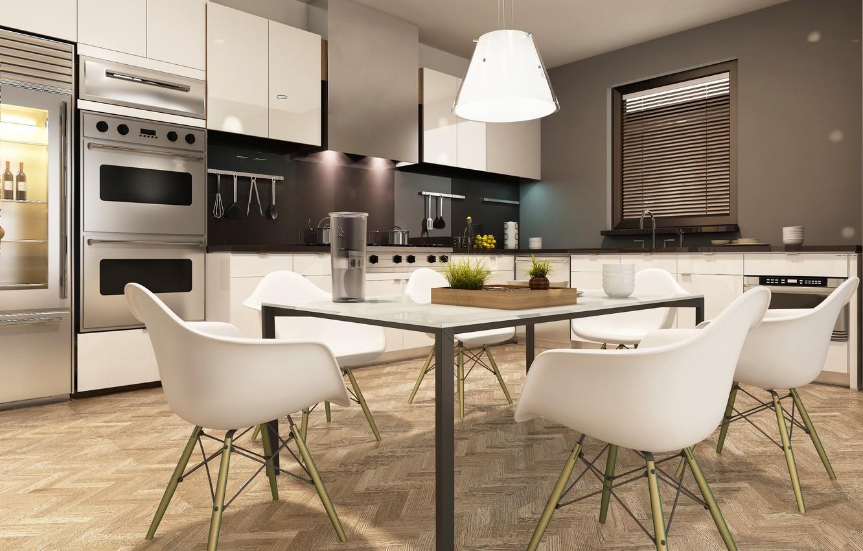 широкоформатные картинки на кухню для