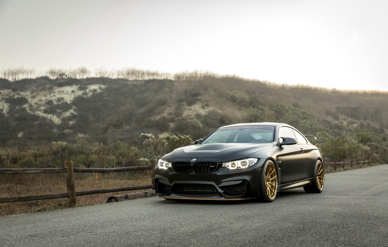 Фото обои BMW, Black, GTS, F82, Sight