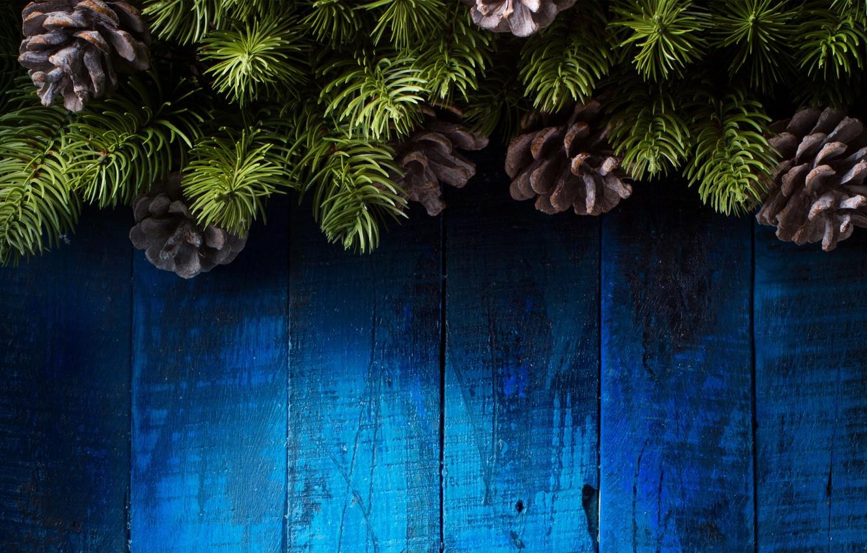 Фото обои украшения, елка, Новый Год, Рождество, happy, Christmas, vintage, шишки, wood, New Year, Merry Christmas, Xmas, …