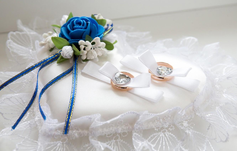 Фото обои цветок, кольца, свадьба, декор