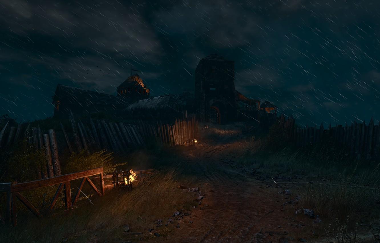 Фото обои Ведьмак, The Witcher, The Witcher 3 Wild Hunt, Ведьмак 3, The Witcher 3, Велен