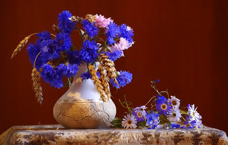 всех васильки и розы картинка вид живописи