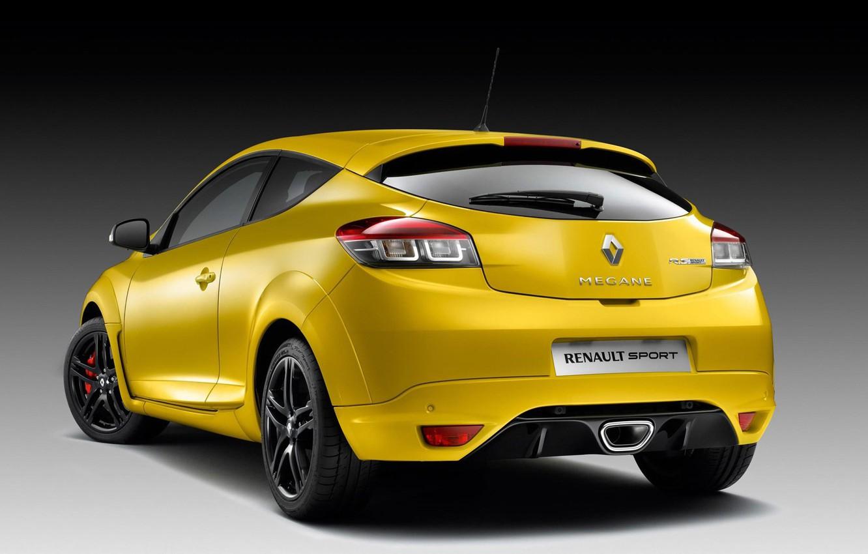 Фото обои Renault, хэтчбек, Megane