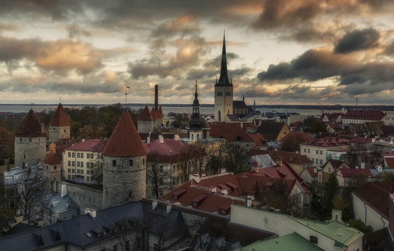 Фото обои город, Tallinn, Estonia