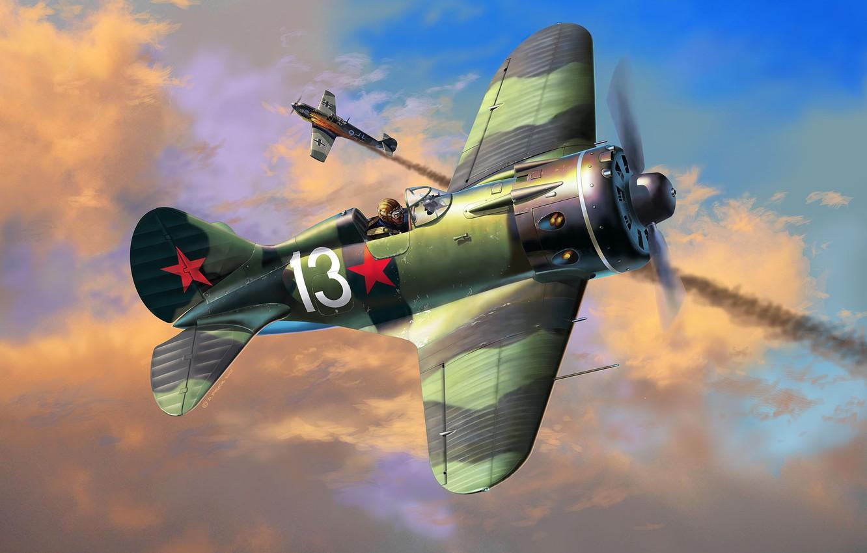 Обои истребитель, ВВС РККА, советский, великая отечественная война, одномоторный, ссср. Авиация foto 7
