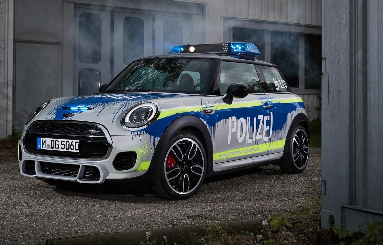 Фото обои 2018, MINI, John Cooper Works, Polizei