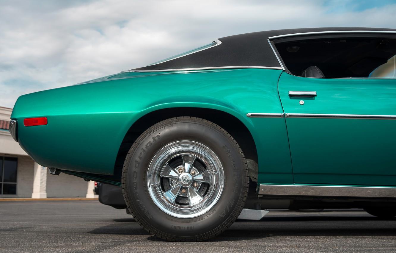 Фото обои стиль, колесо, вид сбоку, Muscle car