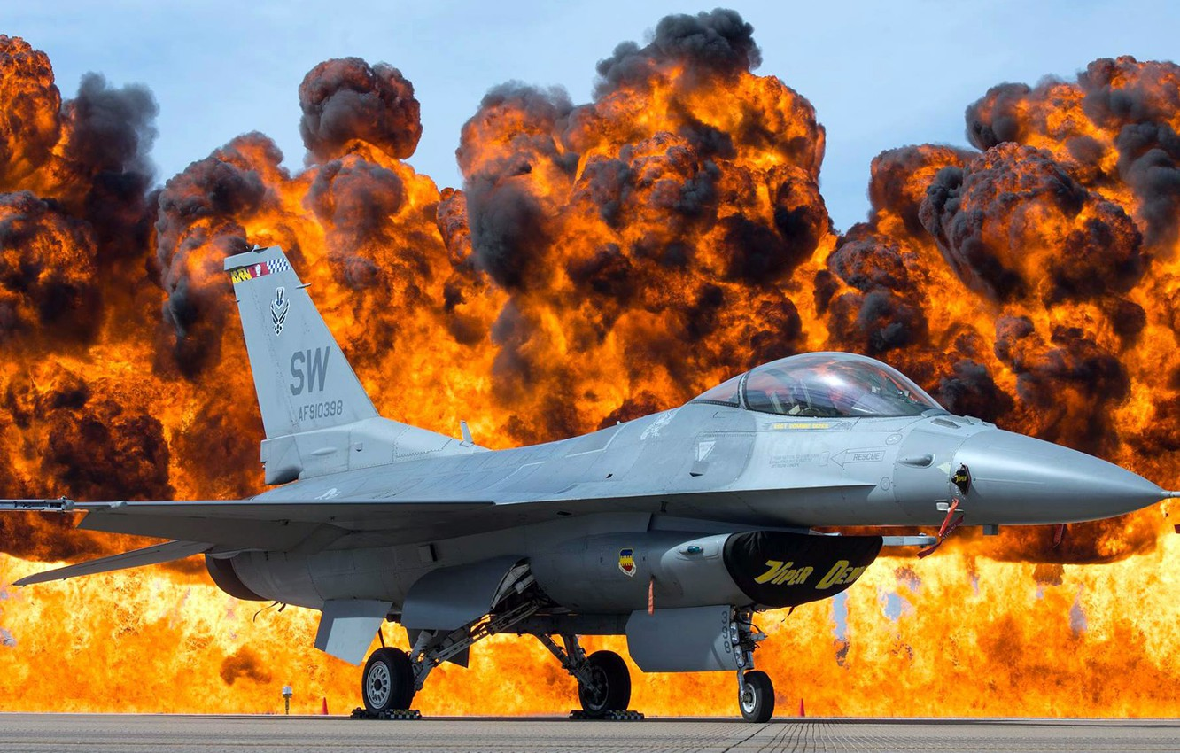 Обои dynamics, falcon, fighter, fighting, jet, 16. Авиация foto 11