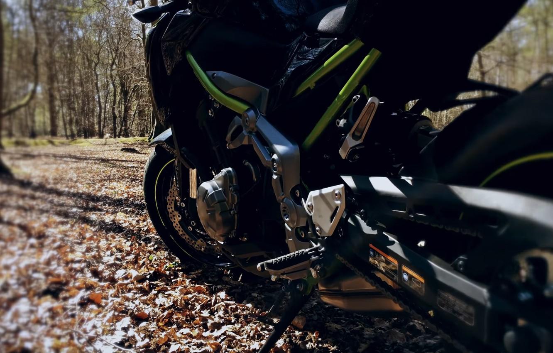 Фото обои мотоцикл, Kawasaki, moto, Kawa, Z900