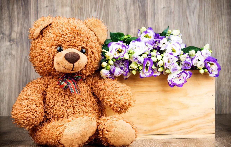 главное, медведь цветы открытка торжество