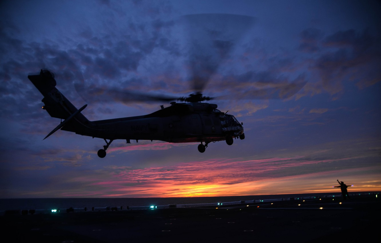 Обои MH-60R, армия, Sea Hawk helicopter. Авиация foto 10