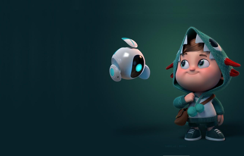 Фото обои фантастика, андроид, детская, Carlos Ortega Elizalde, Hisense ULED, мапыш
