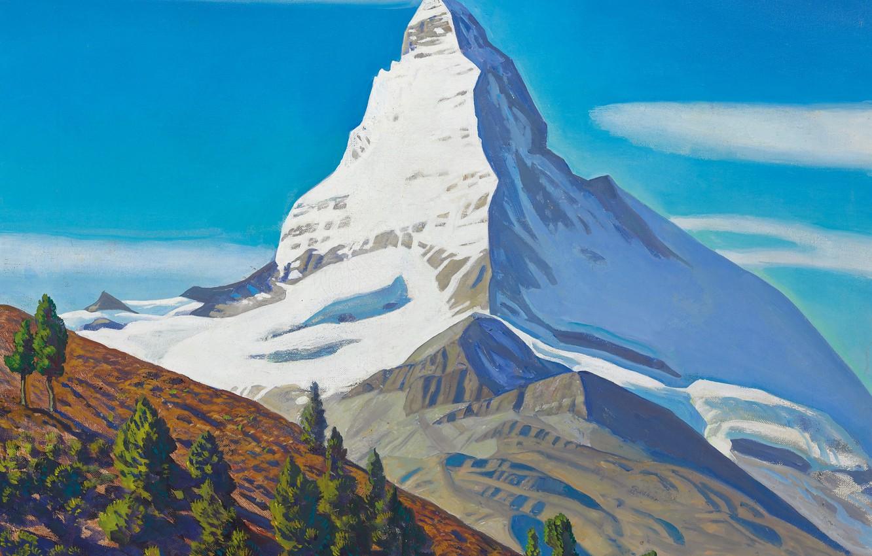 рисуем горы фото гигантские