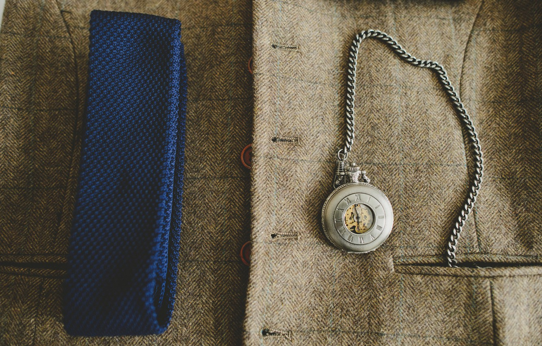Фото обои часы, пальто, карманные