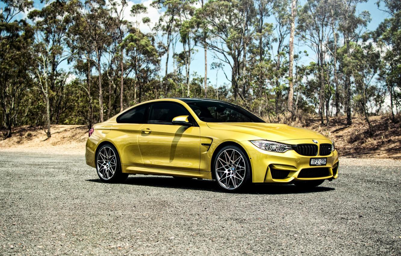 Фото обои бмв, BMW, сбоку, Coupe, F82