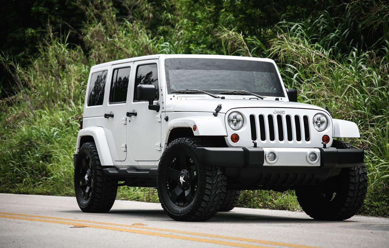 Фото обои Sahara, with, Wrangler, Jeep, Unlimited, kit, suspension, leveling