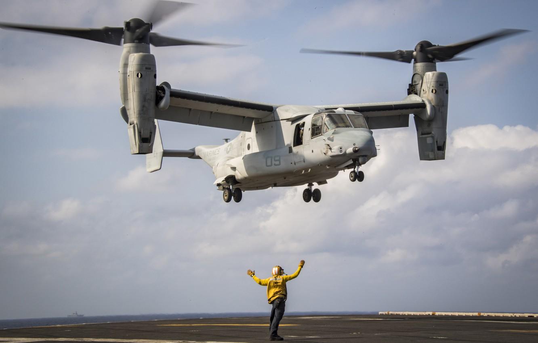 Обои конвертопланы, osprey, Mv-22b. Авиация foto 13