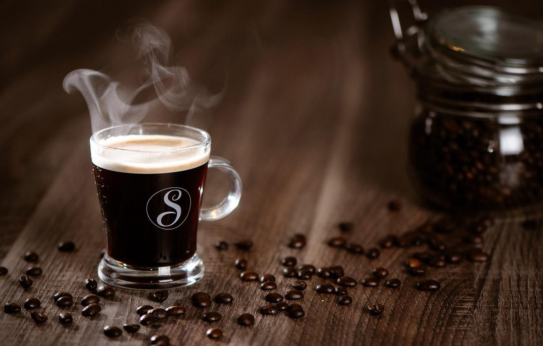 Обои coffee beans, coffee, wood, кофе, чашки, кофейные зёрна. Еда foto 9