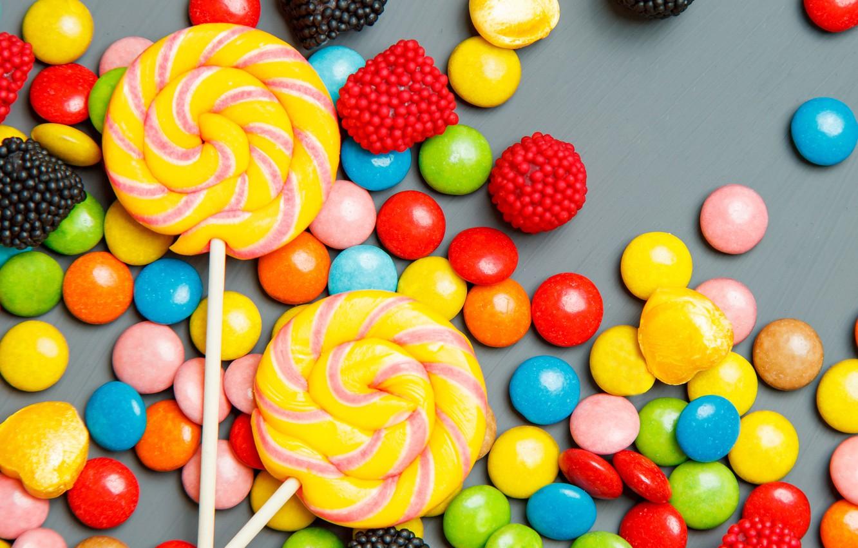 Фото обои colorful, конфеты, сладости, леденцы, sweet, candy, lollipop