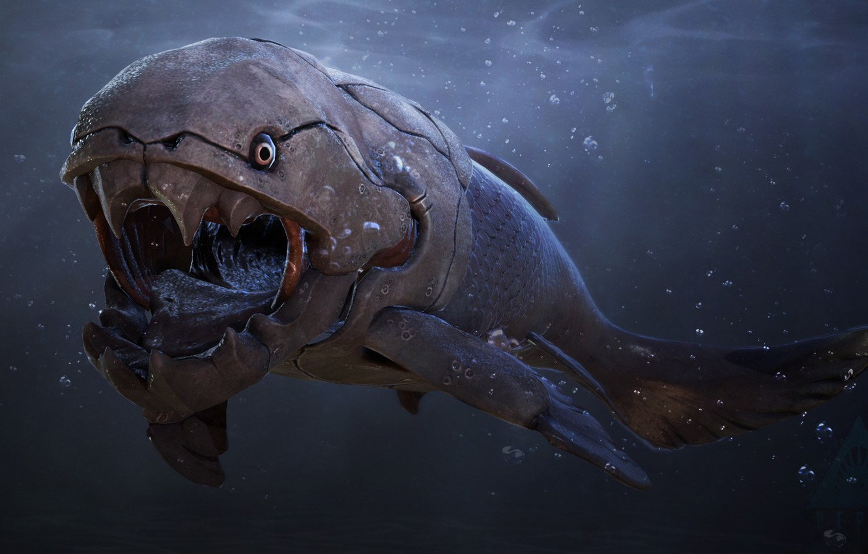 Фото обои зубы, Глубина, Акула, белая акула, Skin, teeth, Great white shark, Depth, by Shake It Off, …
