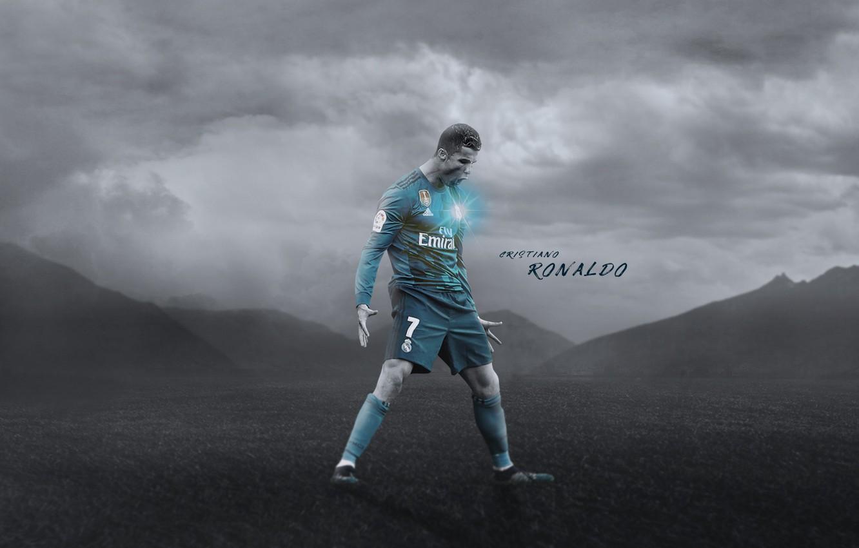 Фото обои Cristiano Ronaldo, football, CR7, champions league, legend, Real Madrid, Portugal, player, Ronaldo, the celebration