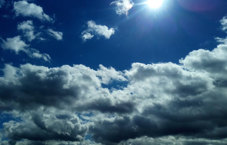 Фото обои небо, солнце, облака, небо nature