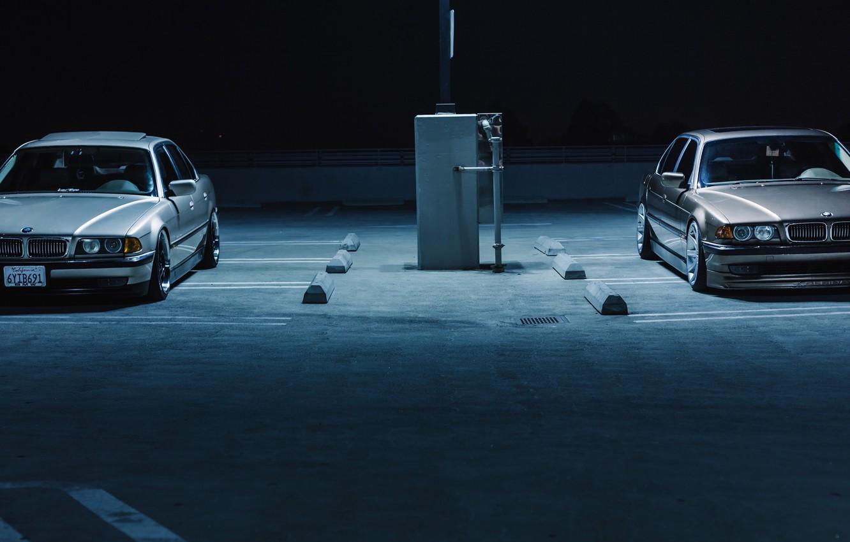 Обои Bmw, car, stance, 7 series, е38. Автомобили foto 7
