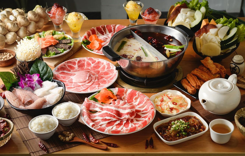 Большие картинки стол с едой