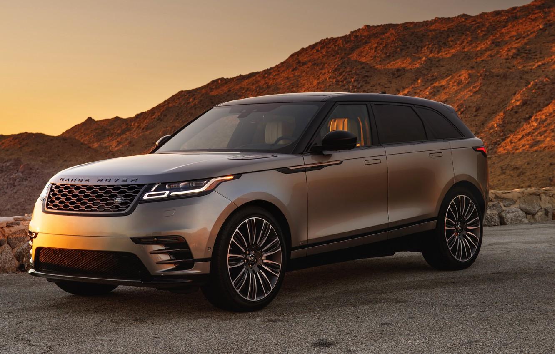 Фото обои Land Rover, Range Rover, 2018, Dynamic, Velar