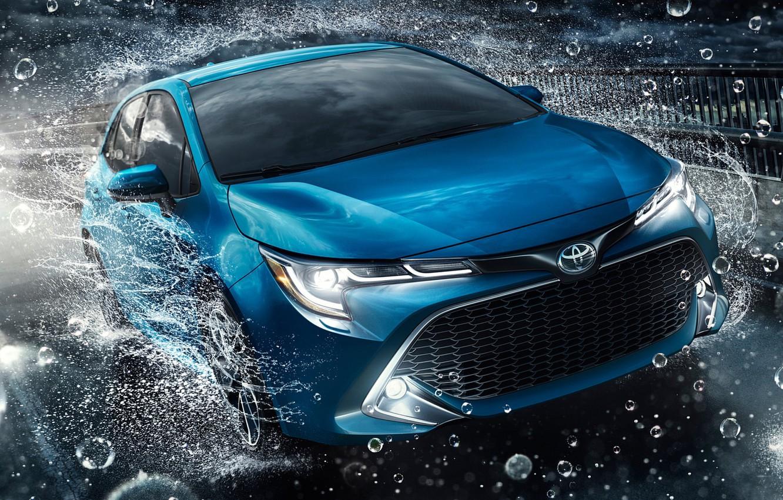 Фото обои Hatchback, Toyota Corolla, Toyota Corolla Hatchback 2019