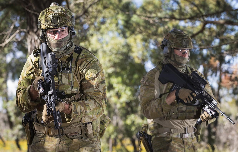 Фото обои оружие, солдаты, Australian Army