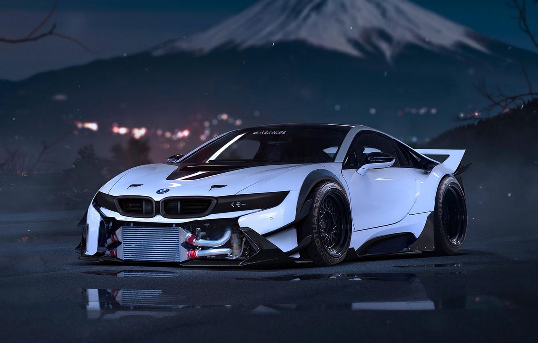 Фото обои car, BMW, logo, supercar, tecnology, BMW I8