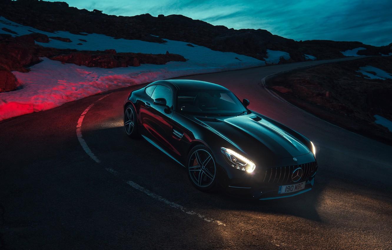 Mercedes-Benz-C63 AMG обои для рабочего стола, картинки