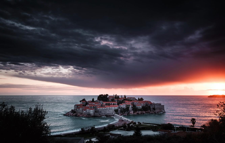 Фото обои Montenegro, Budva, S Stefano