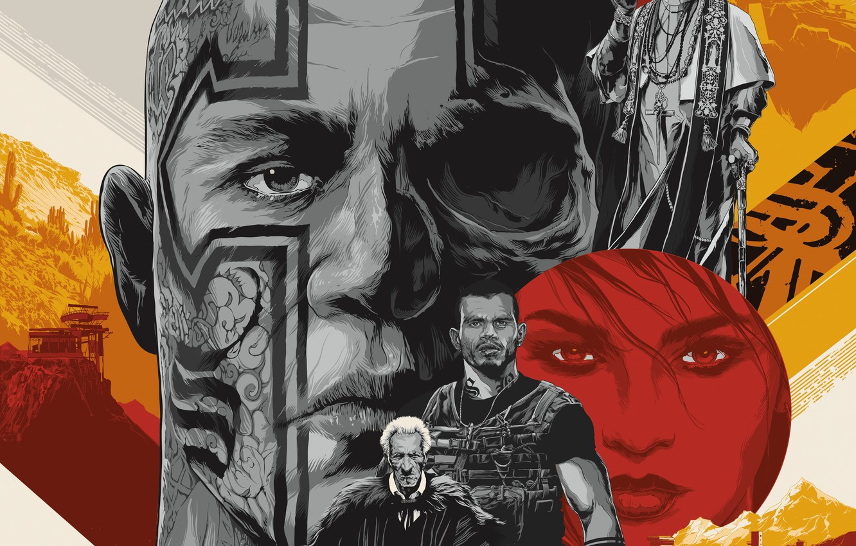 Фото обои Ubisoft, Game, Poster, Tom Clancy's Ghost Recon Wildlands