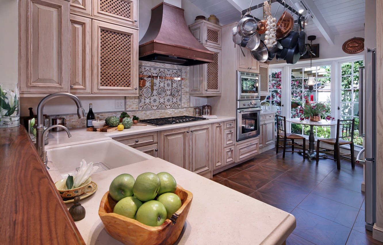 Фото обои стиль, мебель, интерьер, кухня