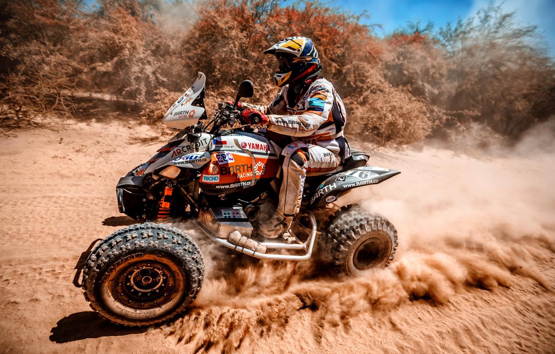 Обои ралли, 276, Квадроцикл, гонщик, гонка, rally. Мотоциклы foto 12