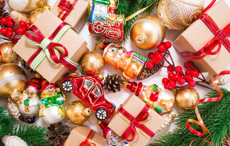 Фото обои украшения, елка, Новый Год, Рождество, подарки, happy, Christmas, New Year, Merry Christmas, Xmas, gift, decoration, …