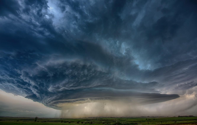 Фото обои небо, облака, тучи, шторм, дождь