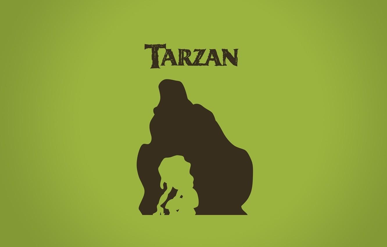 Фото обои мультфильм, мальчик, джунгли, горилла, Африка, ребёнок, cartoon, Уолт Дисней, Тарзан, Tarzan, walt disney, Керчак, Кала