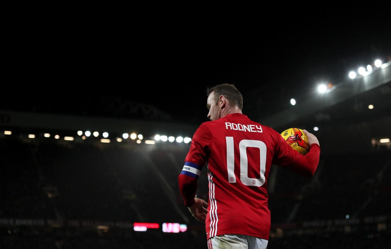 Фото обои Old Trafford, Wayne Rooney, Manchester Unaited