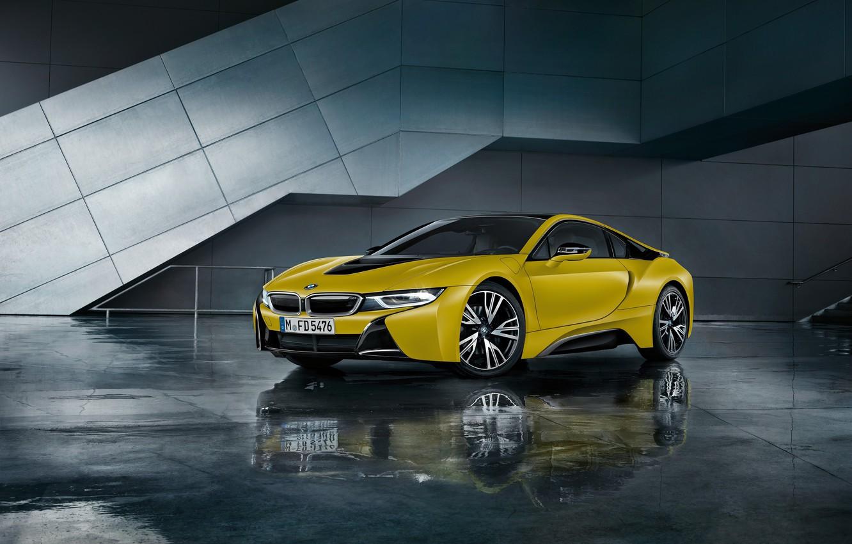 Фото обои Желтый, BMW, Машина, Автомобиль, 2017, Yellow Edition