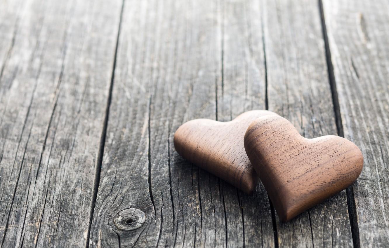 Фото обои сердечки, love, wood, romantic, hearts, wooden, valentine's day