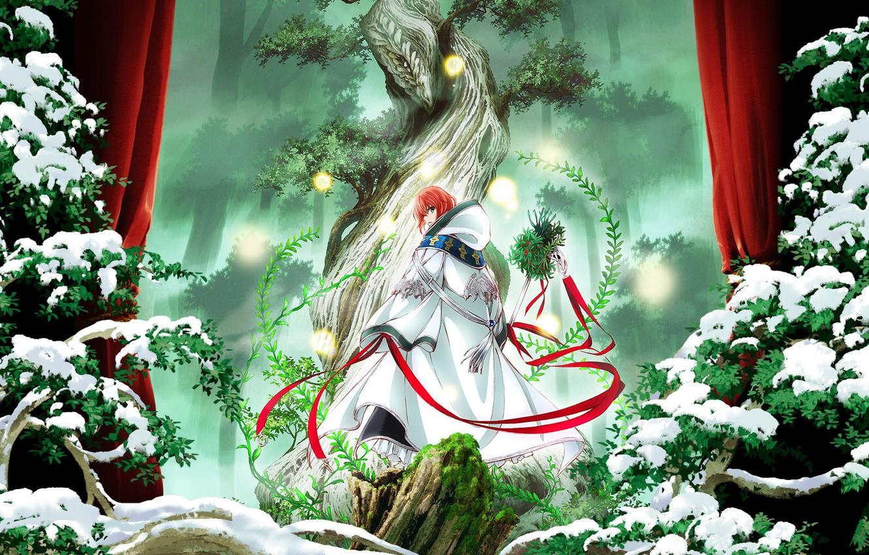Фото обои Anime, Manga, Shonen, Maho Tsukai no Yome, The Ancient Magus Bride, Chise Hatori