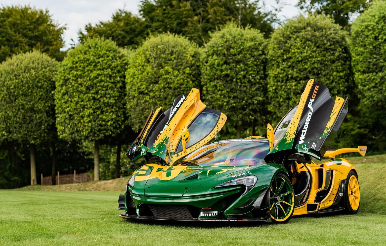 Фото обои гиперкар, McLaren P1, McLaren P1 GTR