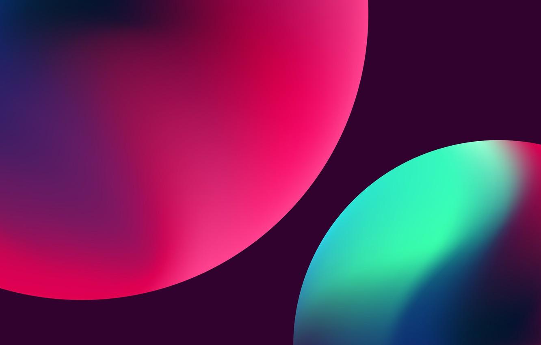 Обои шар, краски. Абстракции foto 8