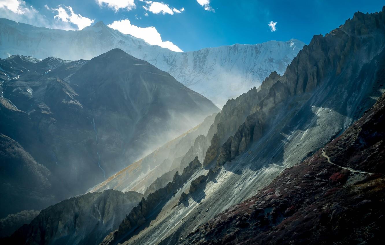 обои Ice Sky Landscape Cloud Snow Cool Nepal