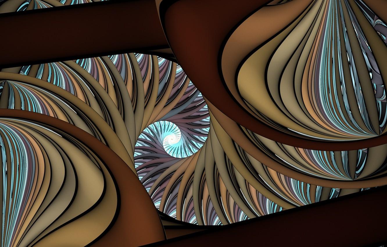 Обои узор, Коричневый цвет, Завитушка. Абстракции foto 15